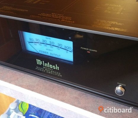 McIntosh MC-301 Mono Block forsterker