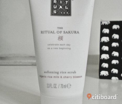 RITUALS - The Ritual of Sakura - Softening Rice Scrub! Ny!
