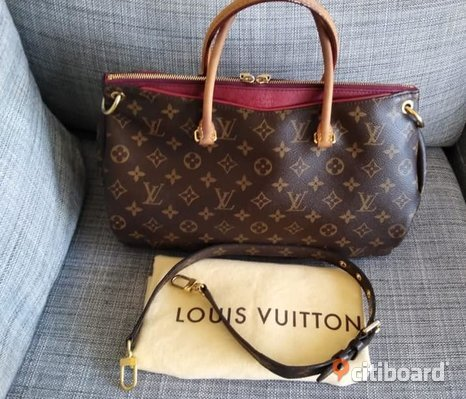 Äkta Louis Vuitton Pallas MM