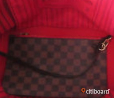 Louis Vuitton neverfull mm med kvitto