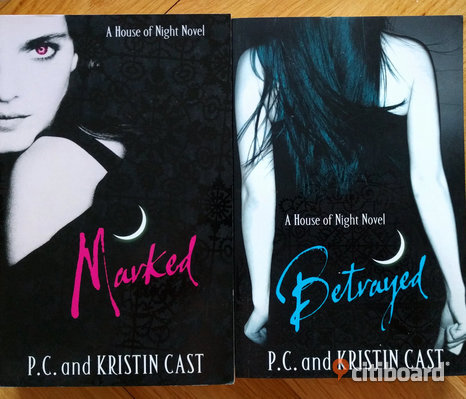 """A House of Night"", bok 1 & 2"
