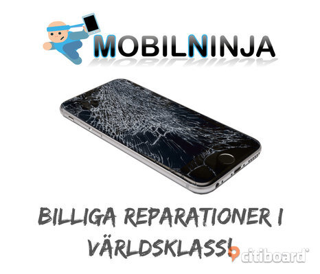 IPhone Samsung reparationer, Garanti & kvitto