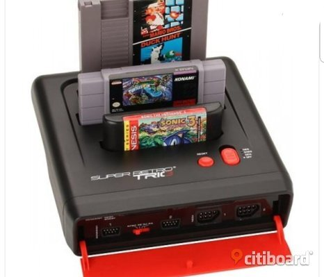Super Retro trio NES,SNES,MEGADRIVE