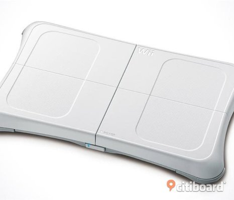 Wii Balance Board och Wii fit plus