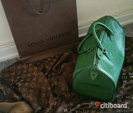 Vintage Louis Vuitton Speedy 30 epi
