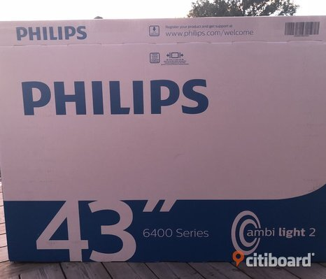 "Philips 43"" ULTRA HD SMART TV"