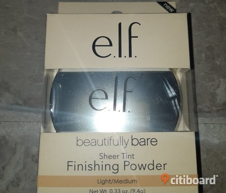 NY! E.L.F. BEAUTIFULLY BARE SHEER TINT FINISHING POWDER LIGHT/MEDIUM.