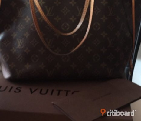 Louis Vuitton neverfull mm äkta