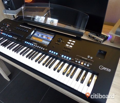 Yamaha Genos Digital Workstation Keyboard
