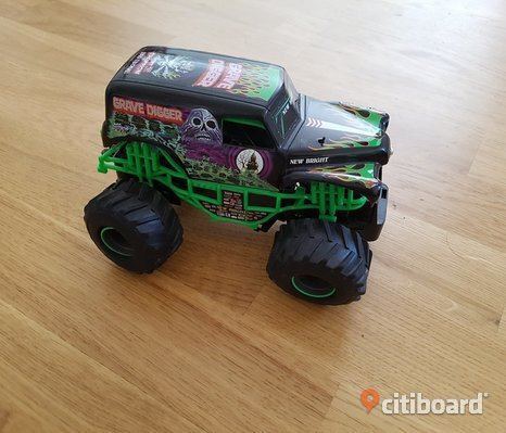 Monster truck bil