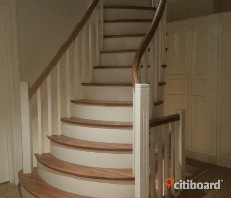 Solid wood stairs high quality. Experience of 20 years