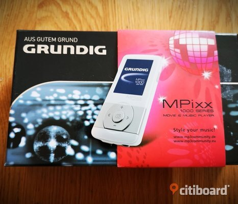 MP3 Spelare Grundig Mpixx 2GB.
