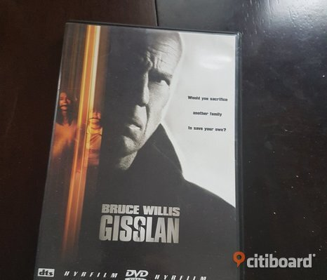 Gisslan DVD film