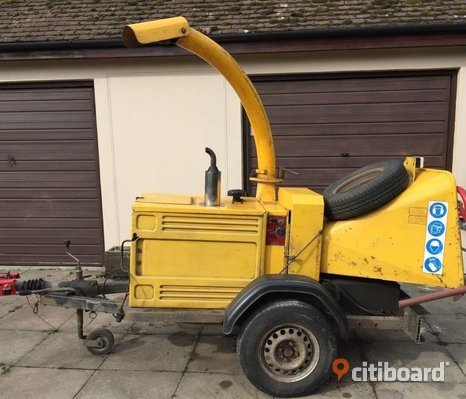 "Entec Timberwolf Kubota Diesel 150 6 ""wood chipper"