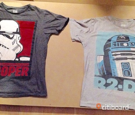 2 Star Wars t-shirts