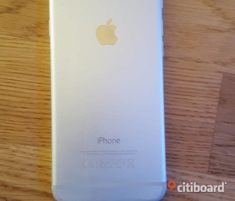 Iphone 6 silver 16gb Olåst