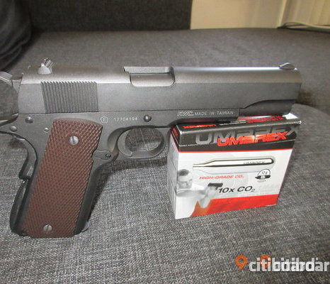 Co2 AIRSOFT PISTOL KWC M1911 A1