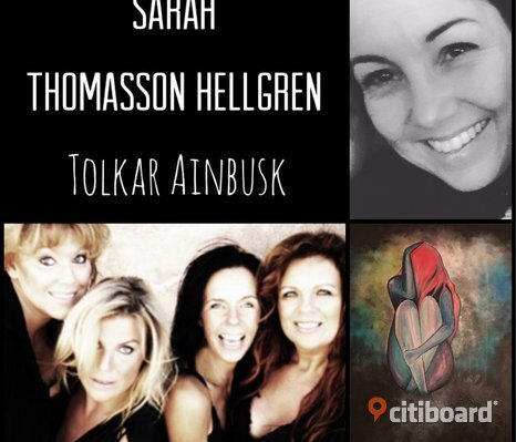 "Vernissage ""Sarah Thomasson Hellgren tolkar Ainbusk"""
