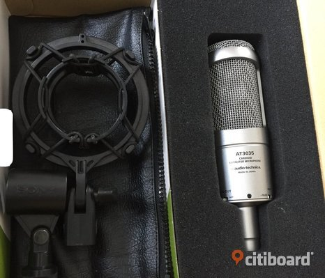 Audio Technica AT3035 Condenser Microphone