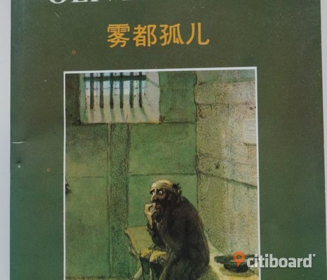 BOOK in CHINESE Oliver Twist by Charles Dickens