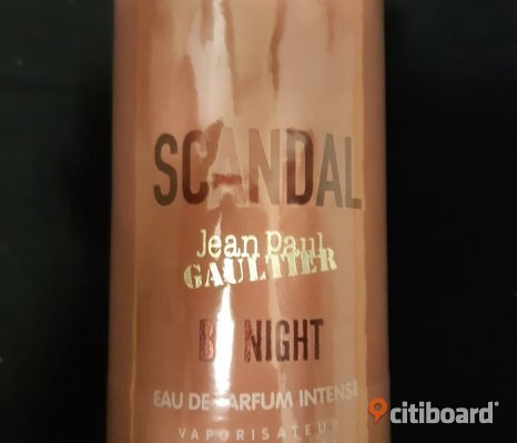 NY! Jean Paul Gaultier Scandal by Night EdP 30ML.OÖPPNAD.MER ÄKTA EDP/EDT FINNS KVAR