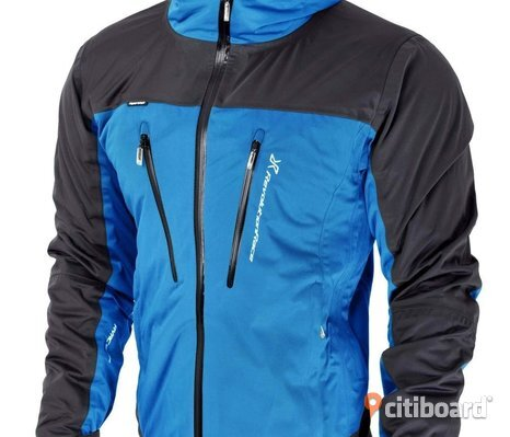 NY! REVOLUTION RACE XL SILENCE PROSHELL JACKET, HERR BLUE.