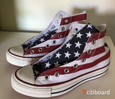 Stars and stripes Converse