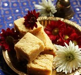 quick easy no cook burfi