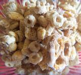 white chocolate crispix mix