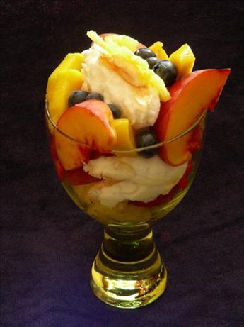 pavlova in a glass