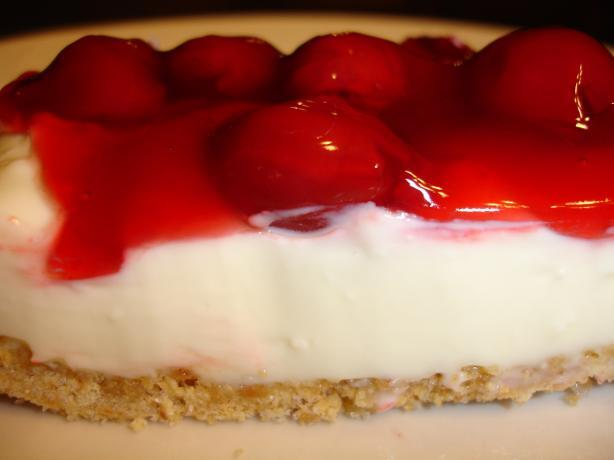easy no bake cherry cheesecake 9 x 13 pan