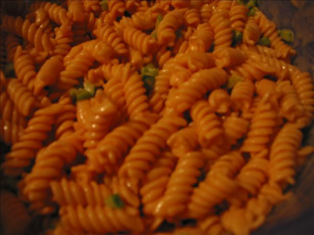 rotini pasta salad with catalina
