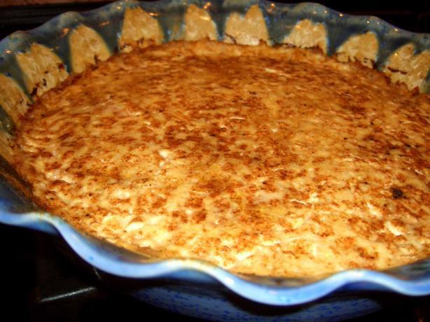 quiche with saltine crust