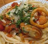 seafood marinara mix