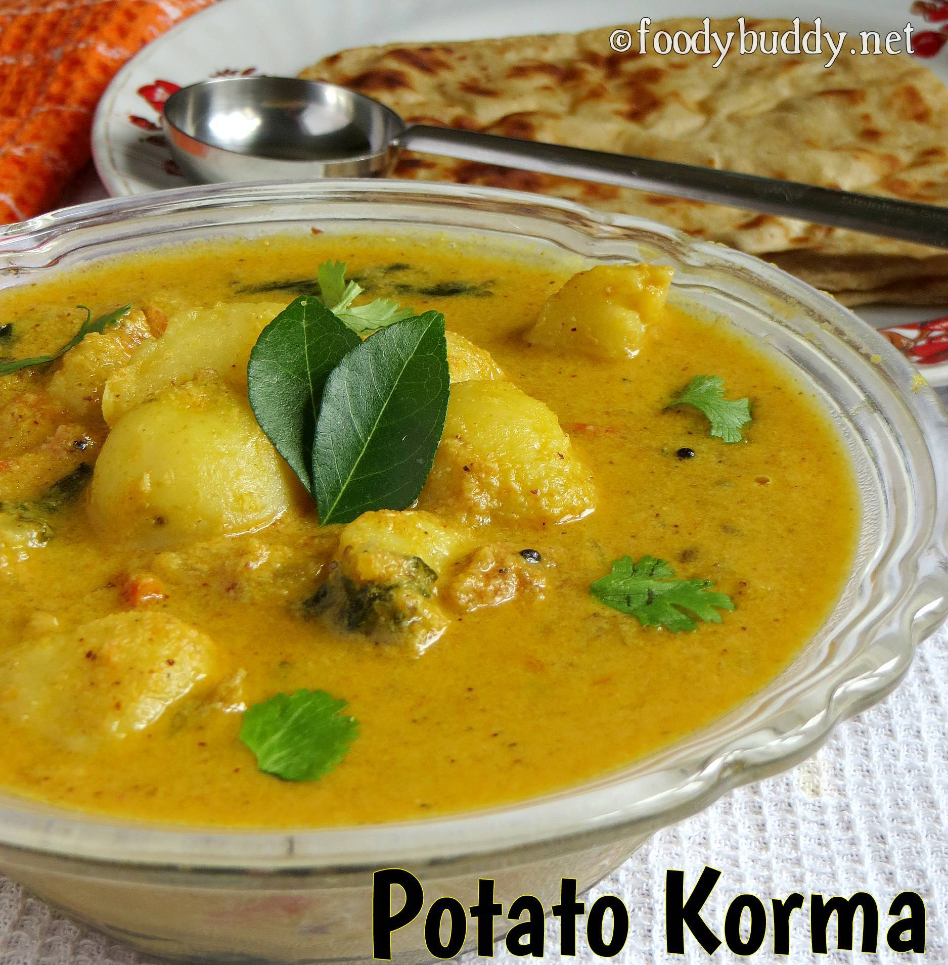 potato kurma without coconut