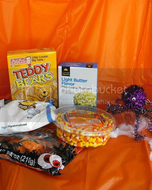 halloween boo snack mix