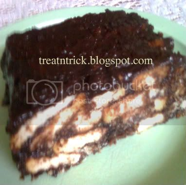 marie biscuit chocolate cake