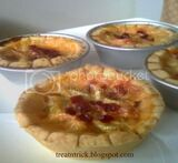 eggless custard pie