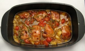 pollo fino backofen