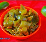 capsicum curry for rice