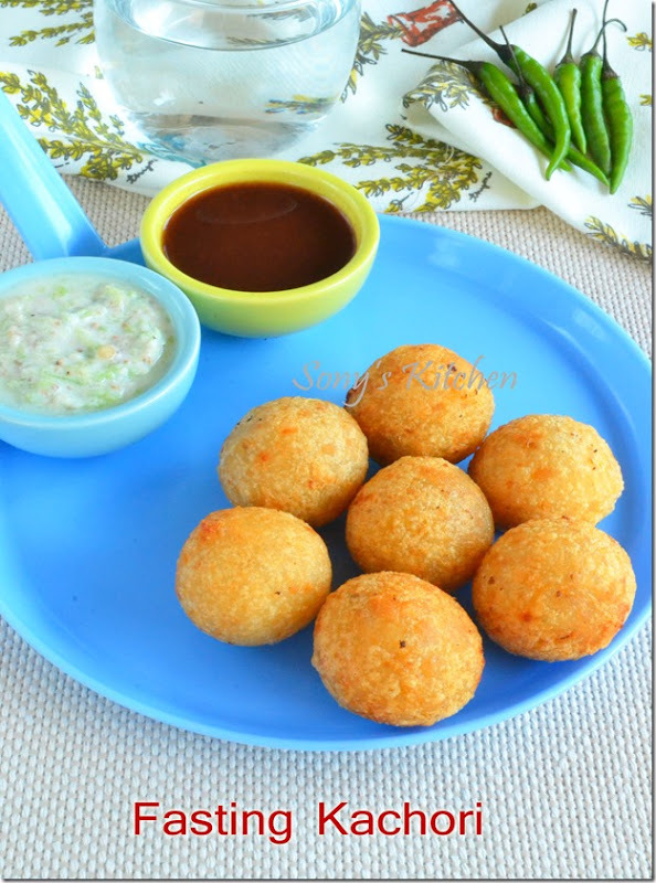 upwas kachori