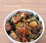 sabzi for aloo paratha