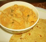 cauliflower kurma for chapathi