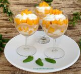 mousse de mango facil