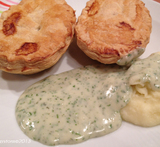 what pastry is used for pie and mash pies