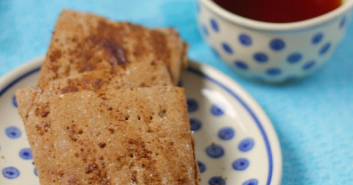 Recepten voor volkoren koekjes bakken mytaste - Graham en bruine behang ...