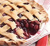 dark morello cherry pie