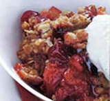 oatmeal crisp topping no flour