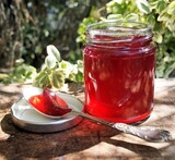 damson and chilli chutney