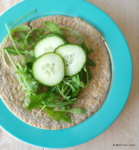 wraps met tonijn warm